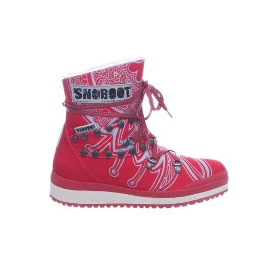 Snoboot Mutant low Tattoo basic red